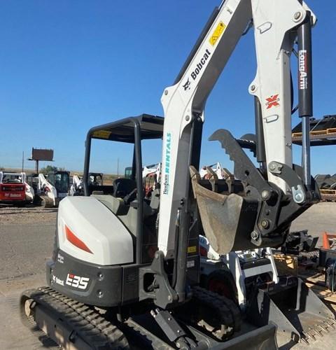 Bobcat E35 T4 Excavator-Track