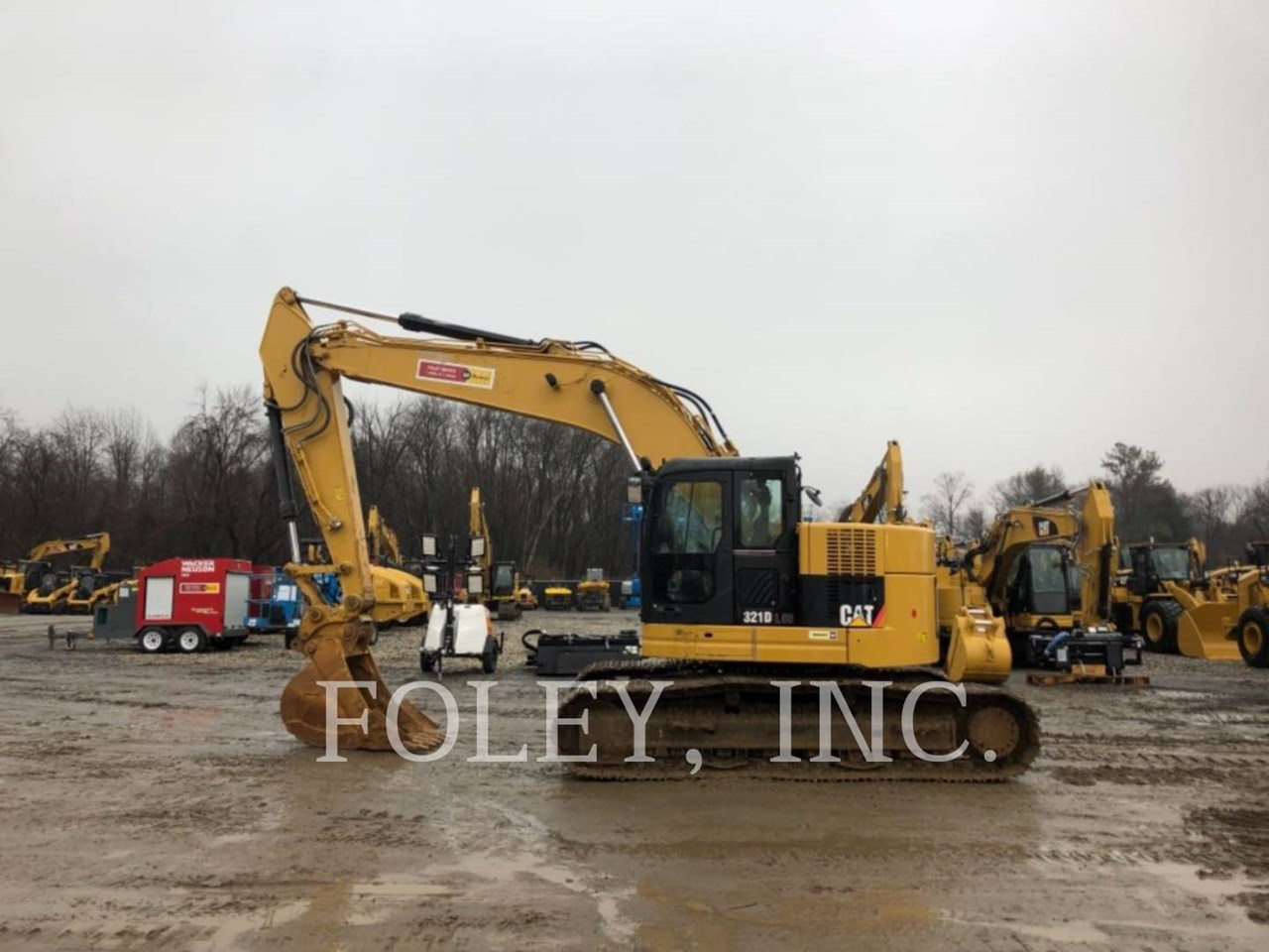 2014 Caterpillar 321DLCR TC Image 1