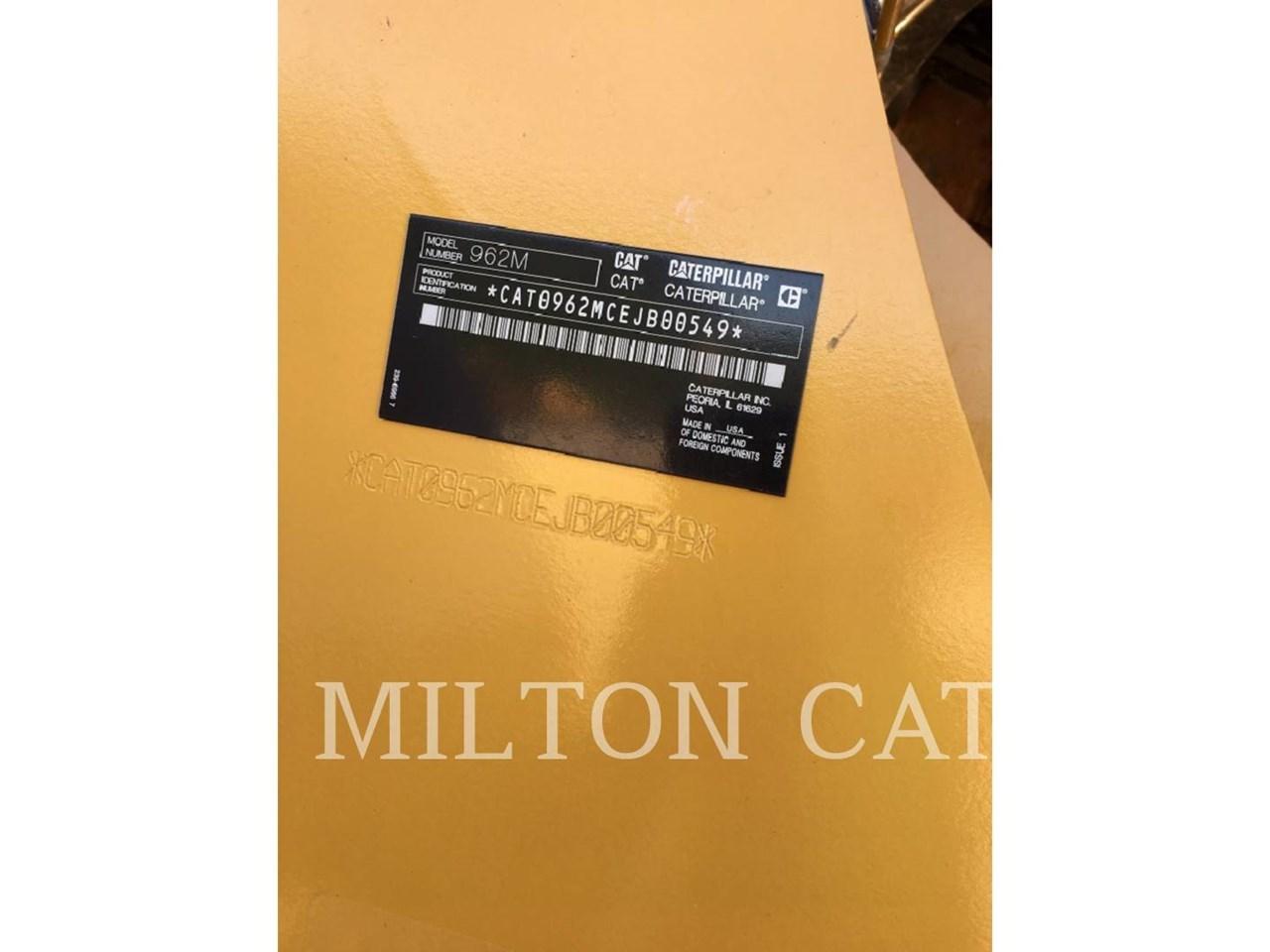 2016 Caterpillar 962M Image 6