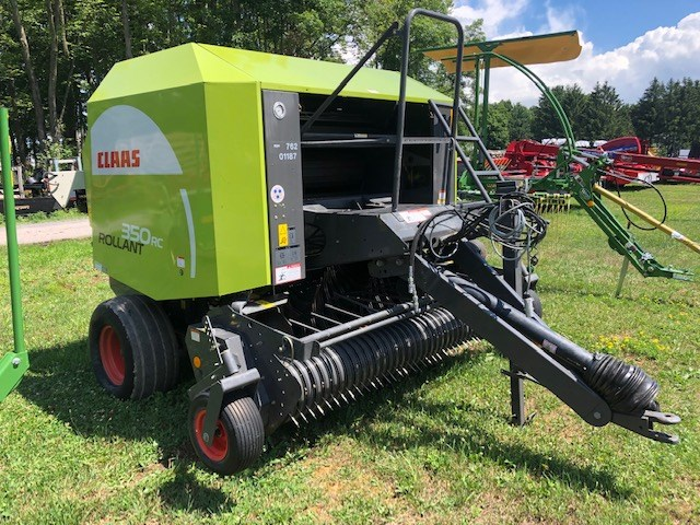 2011 CLAAS 350RC Baler-Round For Sale