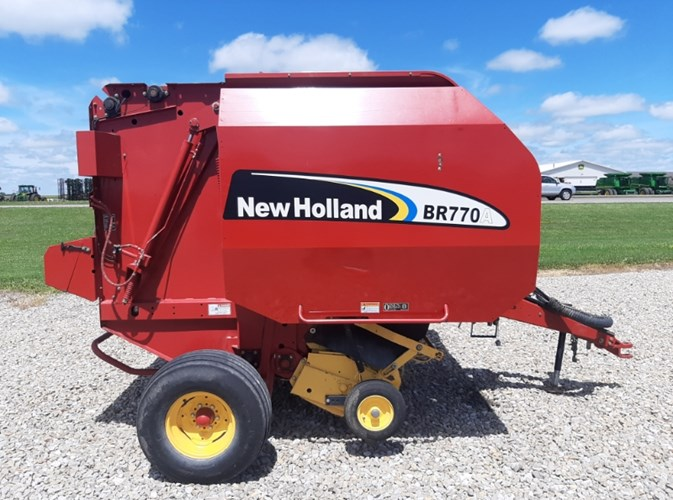 2005 New Holland BR770A Baler-Round For Sale