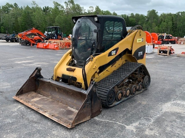 2008 Caterpillar 277C Skid Steer-Track For Sale