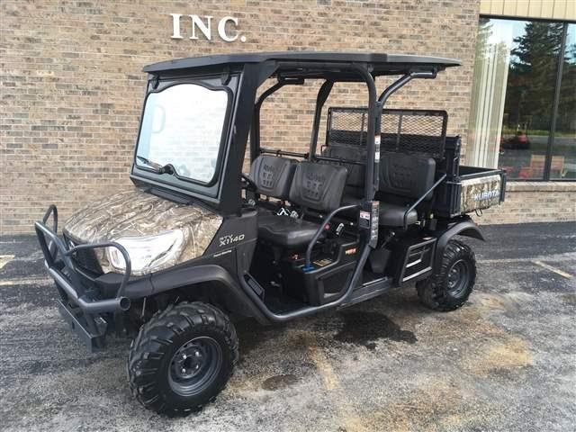 2016 Kubota RTV-X1140R Recreational Vehicle For Sale