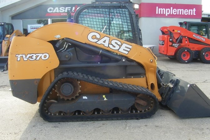 2018 Case TV370 Skid Steer-Track For Sale