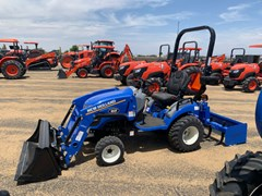 """Tractor For Sale 2021 New Holland Workmaster 25S - 48"""" Bucket , 25 HP"""