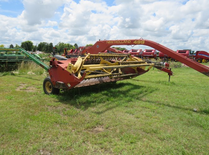 1997 New Holland 499  Windrower-Pull Type For Sale