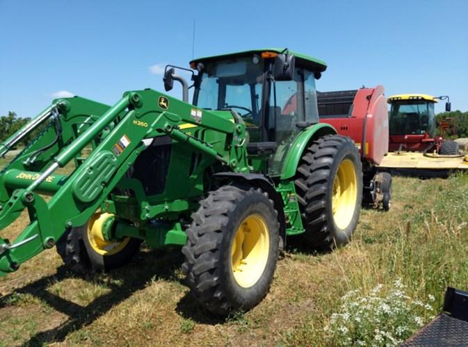 2014 John Deere 6130D Tractor For Sale