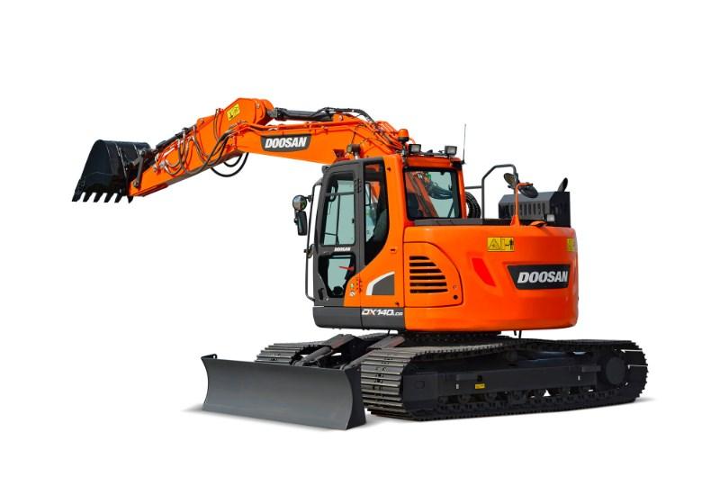 2021 Doosan DX140LCR5 Excavator-Track For Sale