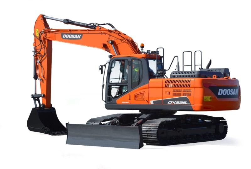 2021 Doosan DX225LC5 Excavator-Track For Sale