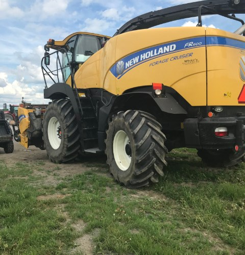 2015 New Holland FR600 Forage Harvester-Self Propelled For Sale