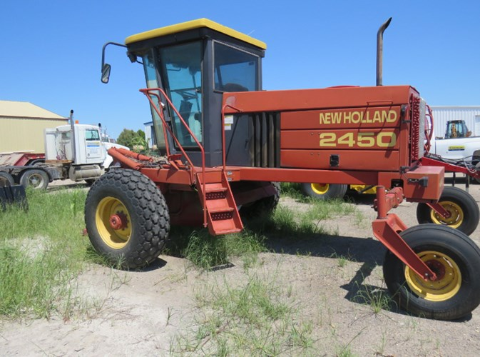 New Holland 2450 Windrower-Self Propelled For Sale
