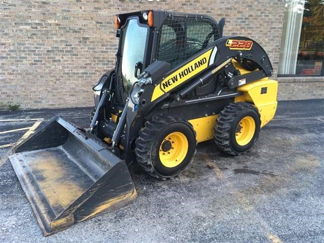 2016 New Holland L228 Skid Steer For Sale