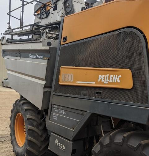 2014 Pellenc 8590 Grape Harvester-Self Propelled For Sale