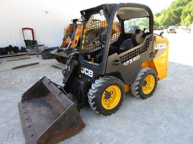 2015 JCB 175 side door entry Skid Steer For Sale