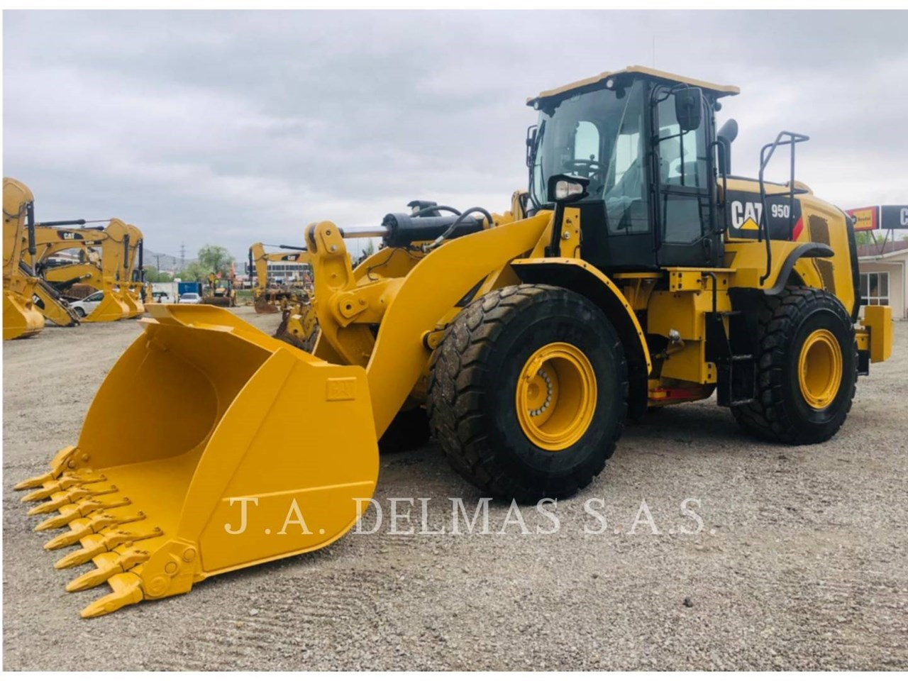 2018 Caterpillar 950L Image 2