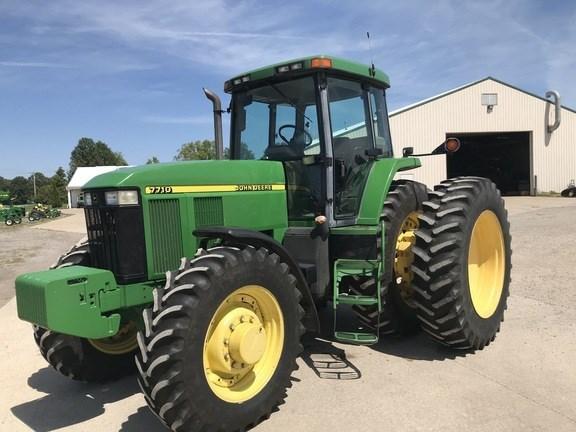 1997 John Deere 7710 Tractor - Row Crop For Sale