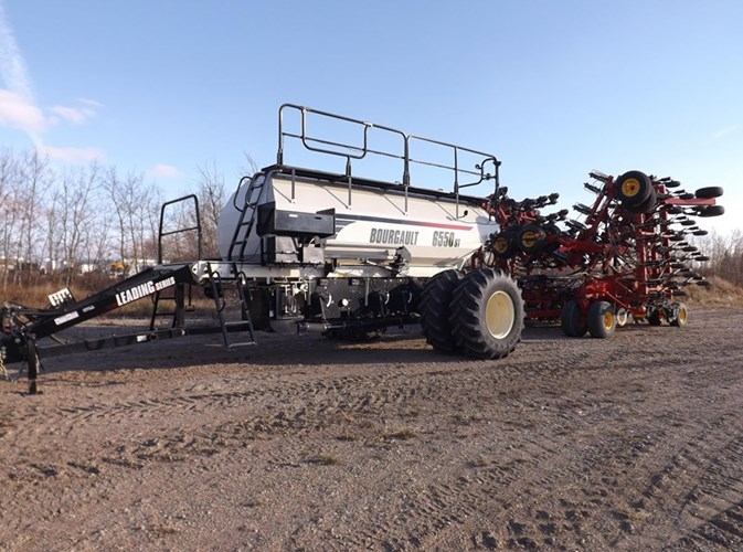 2014 Bourgault 3320 XTC + L6550 Air Drill For Sale