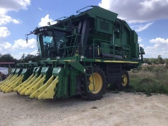 2011 John Deere 7760 Cotton Picker For Sale