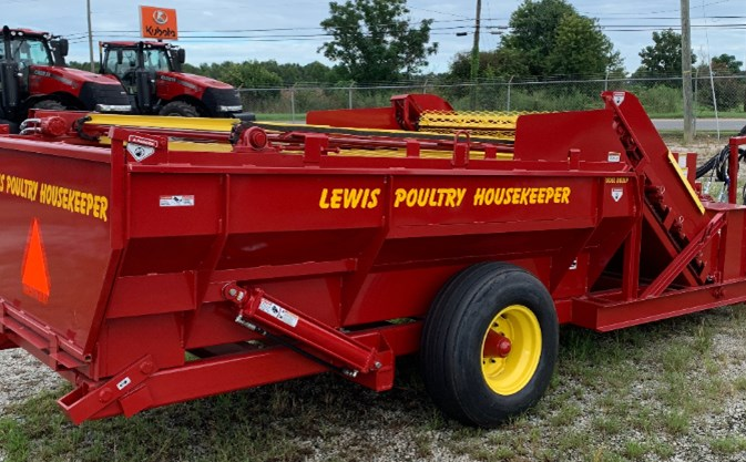 Lewis Bros. DB2LP Poultry Litter Saver For Sale