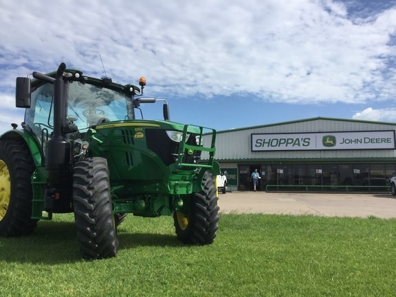 2018 John Deere 6155R Tractor - Row Crop For Sale