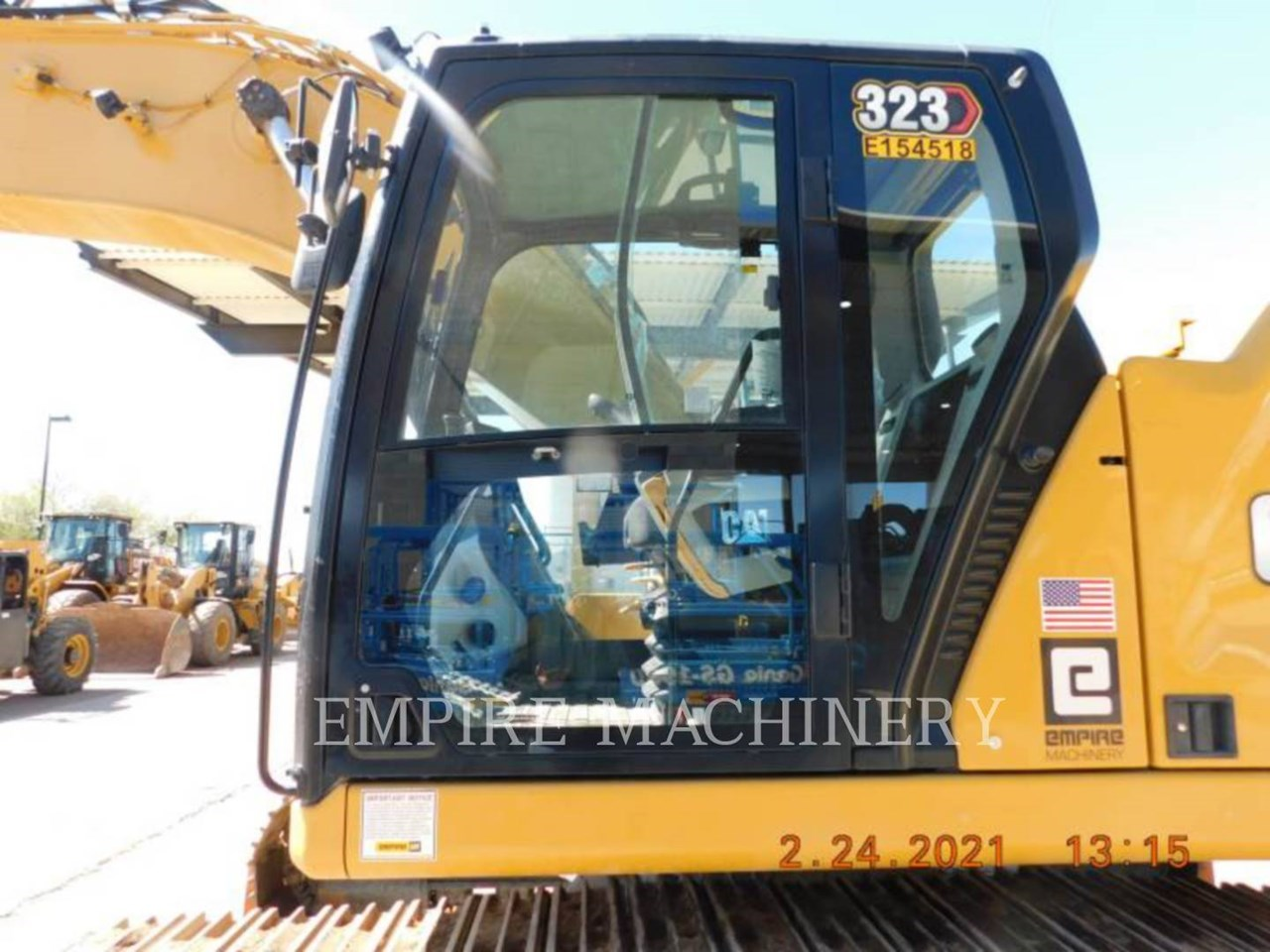 2020 Caterpillar 323-07   P Image 17