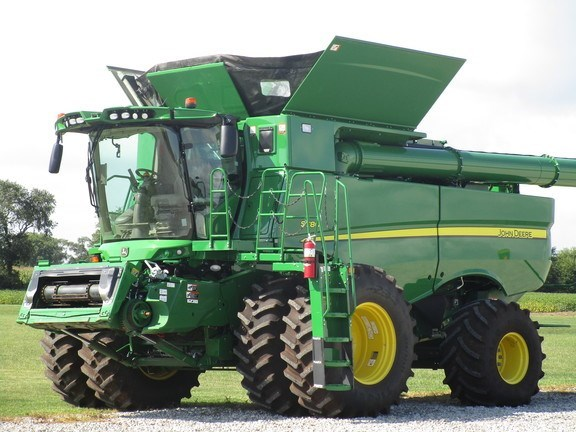 2019 John Deere S780 Combine For Sale