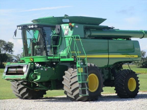 2011 John Deere 9770 STS Combine For Sale