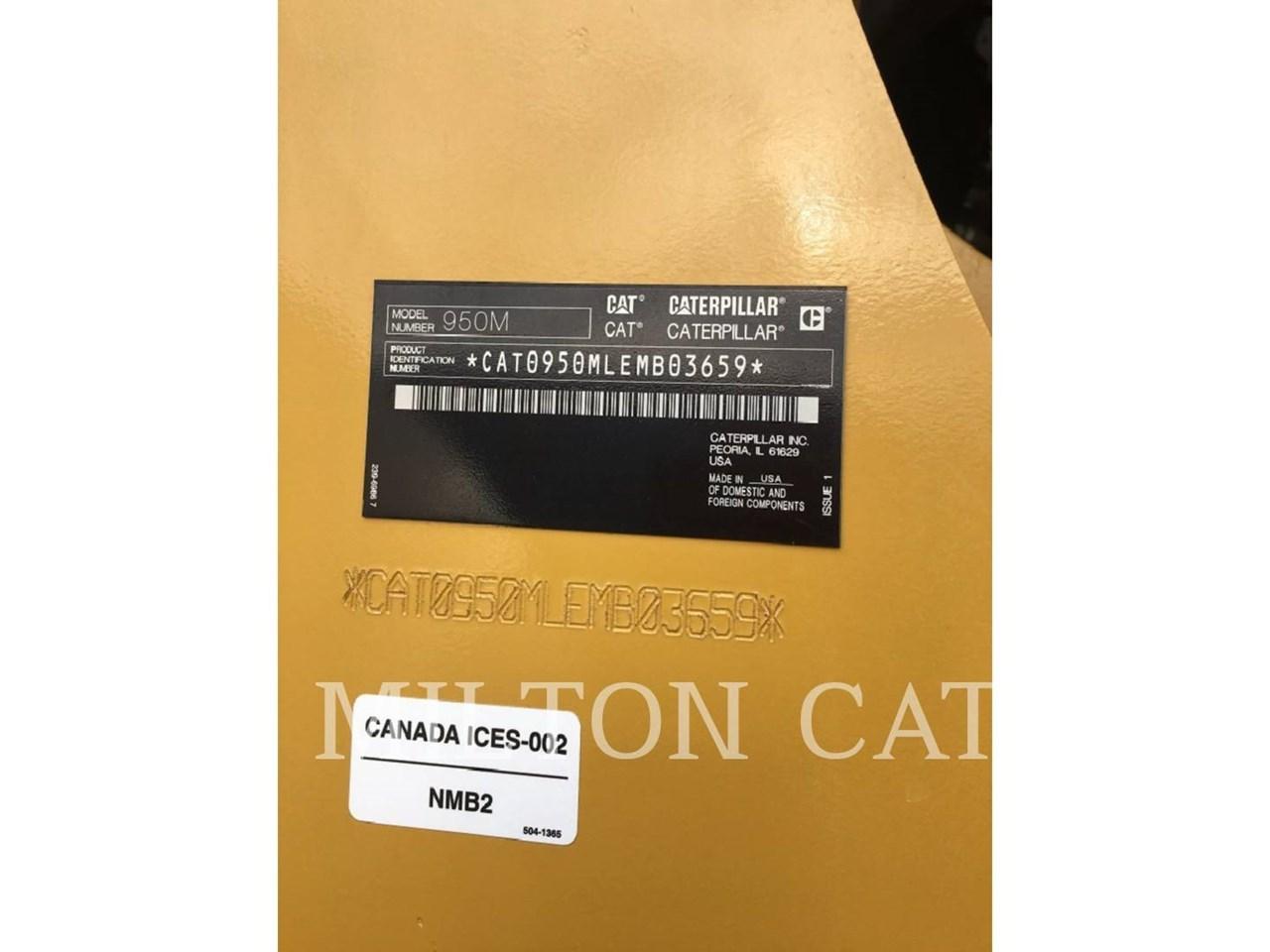 2017 Caterpillar 950M 3V Image 9