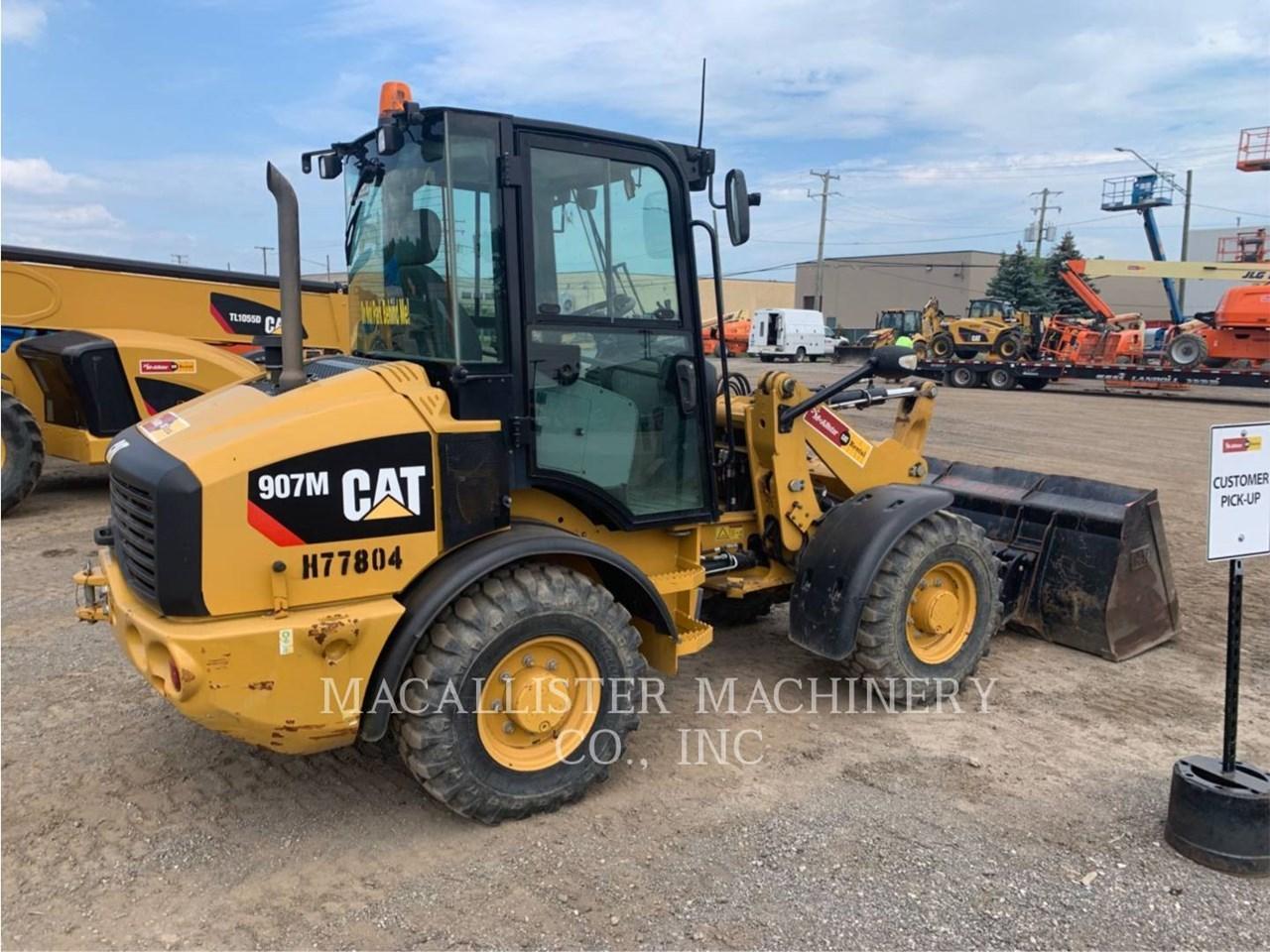 2016 Caterpillar 907M Image 3