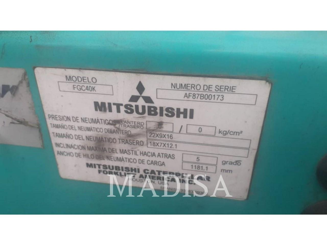 2016 Mitsubishi FGC40K Image 5