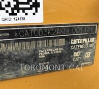 2012 Caterpillar D3K2 LGP Thumbnail 4