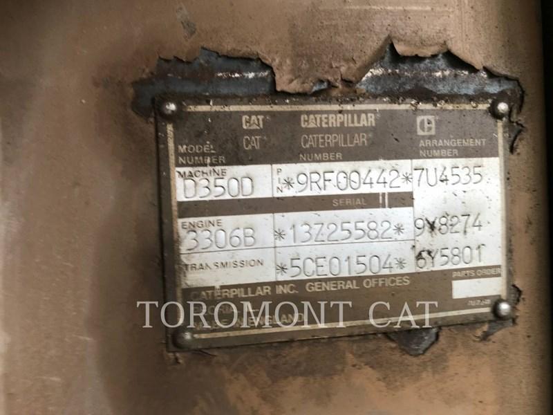 1993 Caterpillar D350D 6WD Image 6