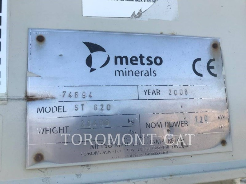 2008 Metso ST620 Image 8