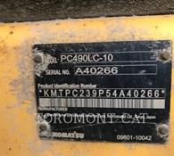 2012 Komatsu PC490LC10 Thumbnail 6