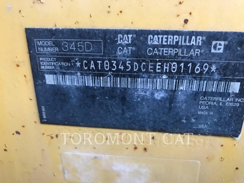 2012 Caterpillar 345DL Image 7