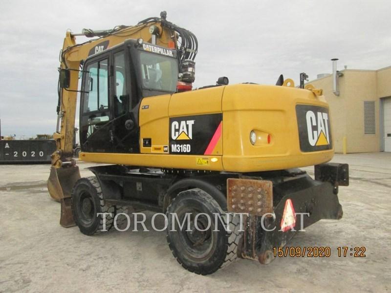 2010 Caterpillar M316D Image 1