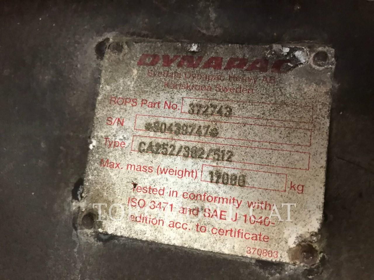 1998 Dynapac CA302 Image 7
