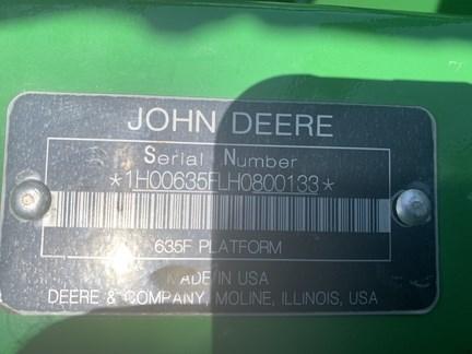 2018 John Deere 635F Image 21