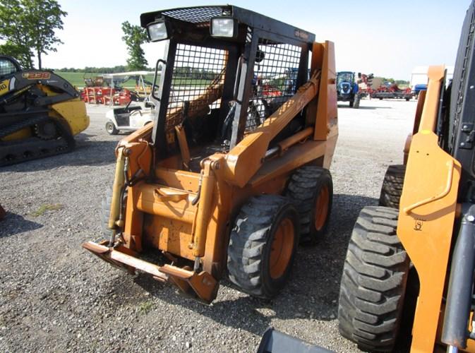 1989 Case 1840 Skid Steer For Sale