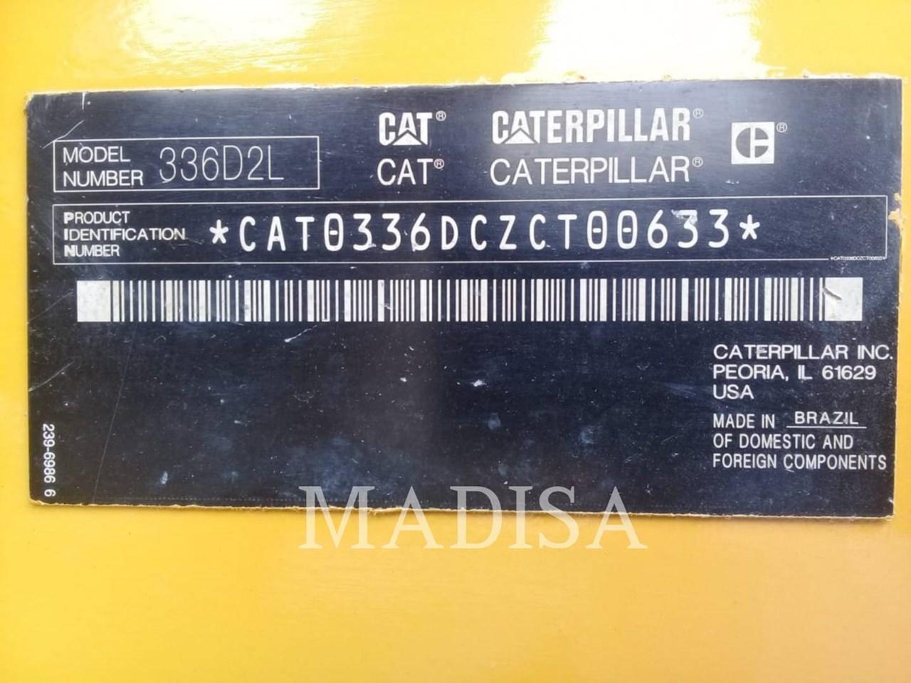2014 Caterpillar 336D2L Image 11