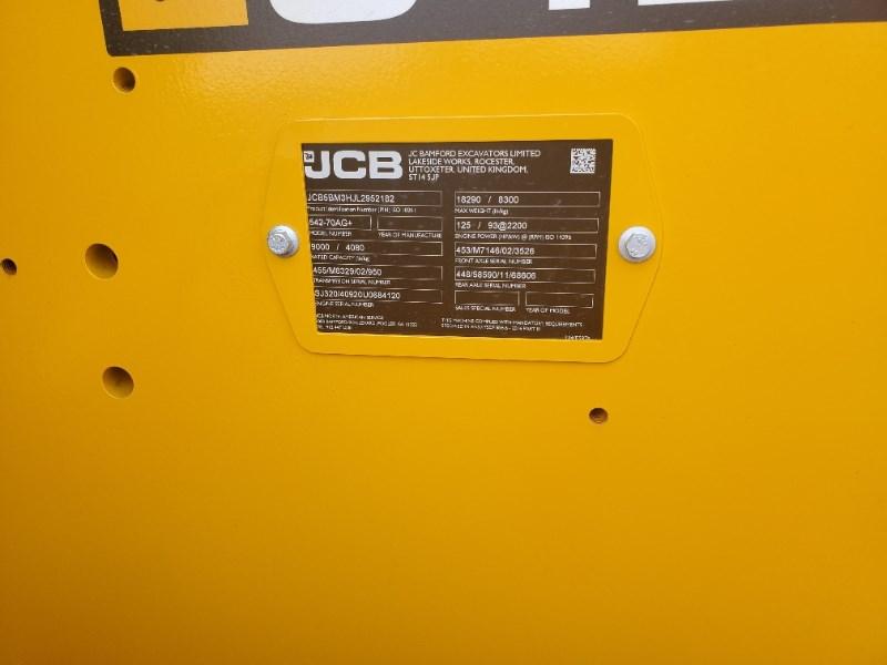 2020 JCB 542-70AG+ Image 8