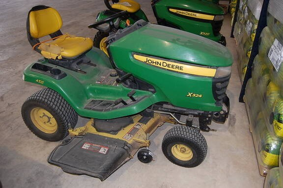 John Deere X324 Riding Mower For Sale