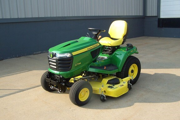 2018 John Deere X734 Riding Mower For Sale