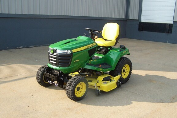 2017 John Deere X739 Riding Mower For Sale