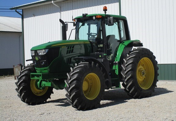 2019 John Deere 6155M Tractor - Row Crop For Sale