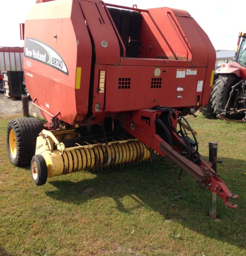 New Holland BR740 Baler-Round For Sale