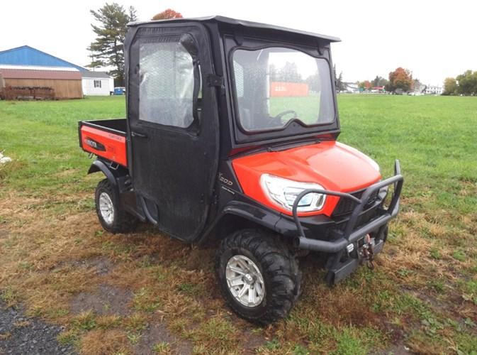 2014 Kubota X1120DWLA Utility Vehicle For Sale
