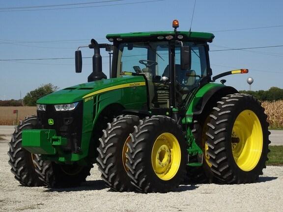 2017 John Deere 8370R Tractor - Row Crop For Sale