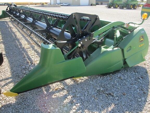 2008 John Deere 635F Header-Auger/Flex For Sale