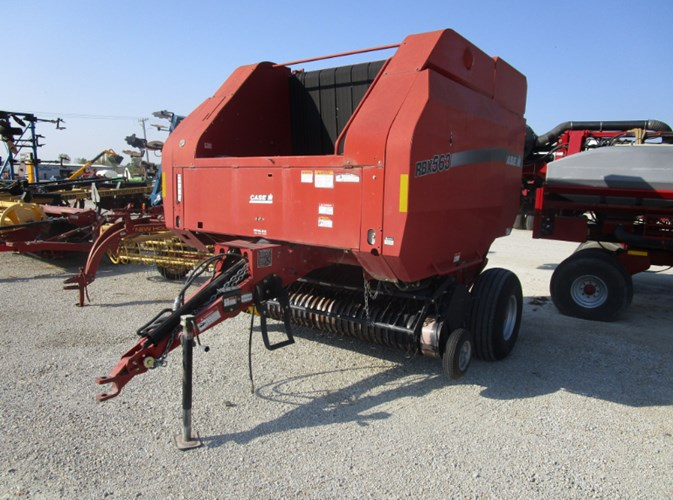 2007 Case IH RBX563 Baler-Round For Sale